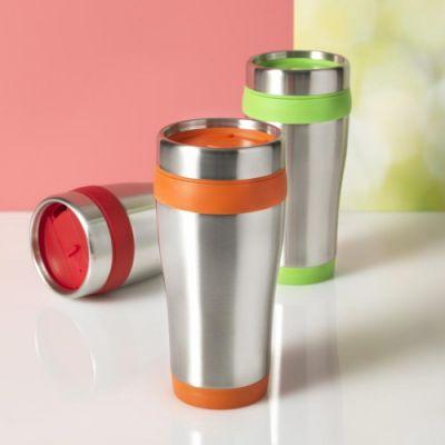 Bicchiere termico Sipper colorato trasparente