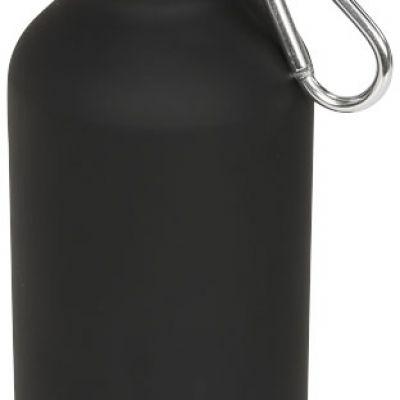 Borraccia sportiva da 400 ml opaca con moschettone Oregon