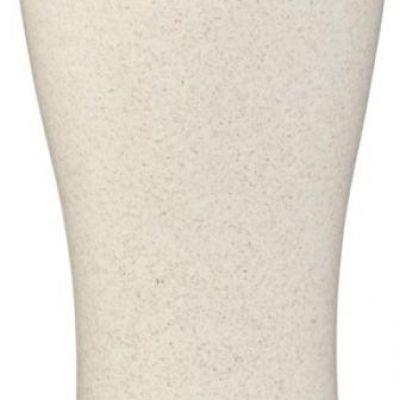 Bicchiere termico Elwood. Bicchiere a doppia parete con tappo a vite e apertura scorrevole
