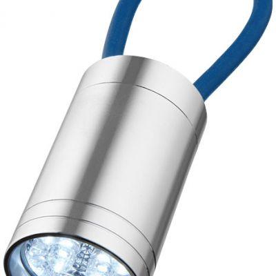 Torcia a 6 LED con cinturino fluorescente Vela