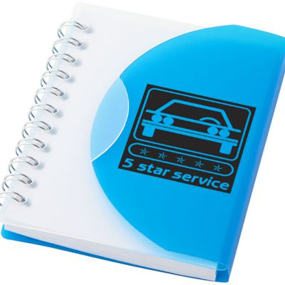 Notebook A7 post plastica