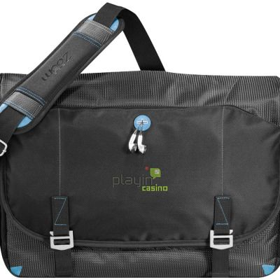 Borsa messenger portacomputer Checkpoint Friendly, nero
