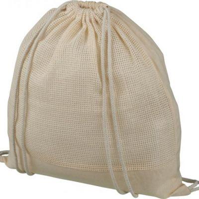 Zaino con cordoncino Maine in rete di cotone