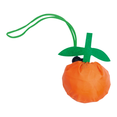Borsa pieghevole amanda mandarino in poliestere
