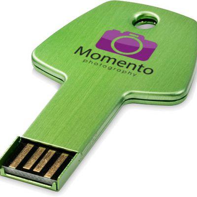 USB Key  in metallo a forma di chiave 16gb