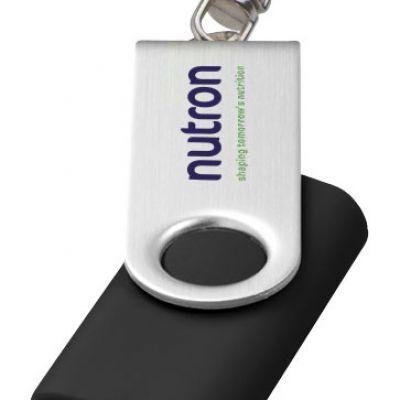 USB rotante con portachiavi classic