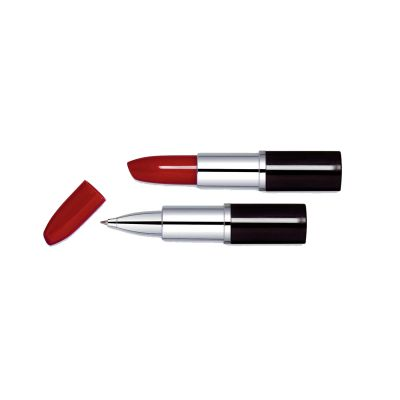 Penna sfera a rossetto plastica