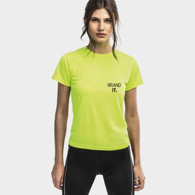 NICOSIA WOMEN. T-shirt tecnica da donna