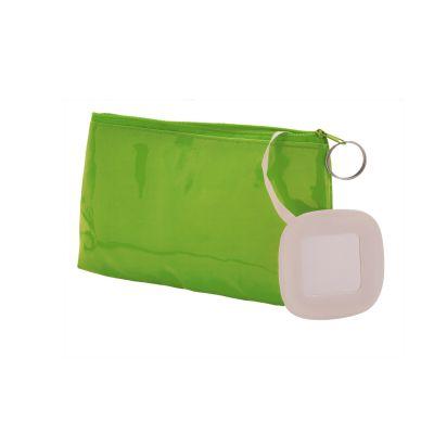 Porta trucchi con specchio steffi in pvc