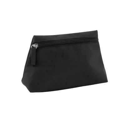 Pochette per make-up con zip in poliestere