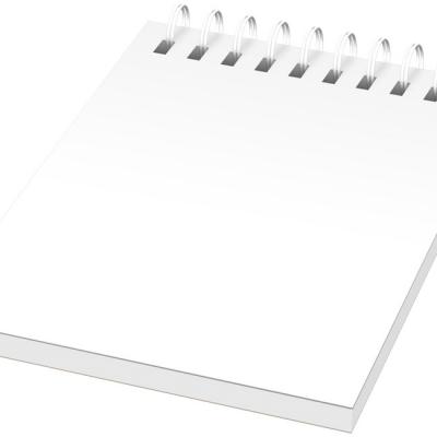 Notebook A7 spiralato Desk-Mate® con copertina in PP 100 fogli