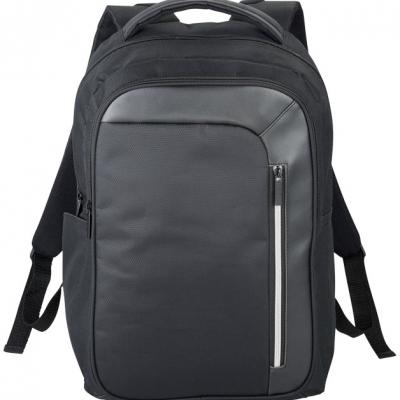 """Zaino porta computer da 15,6""""tasche multiple, dotato di schienale imbottito e spallacci imbottiti regolabili"""