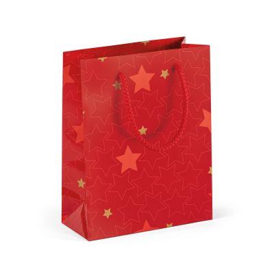 Sacco di carta patinata con laminazione lucida (170 g / m²)