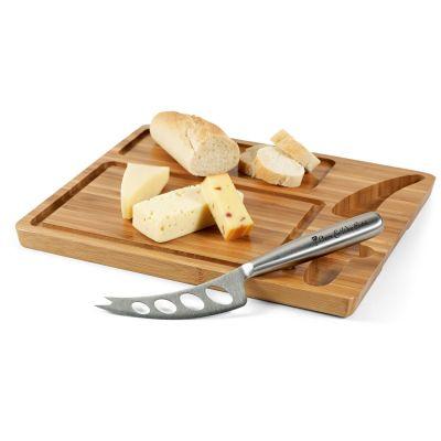 MALVIA Tagliere per formaggi in bambù