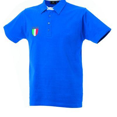 Polo manica corta in Jersey Italy Rio
