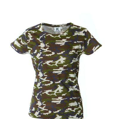 T-shirt manica corta girocollo - 100% cotone pettinato Ibiza Lady
