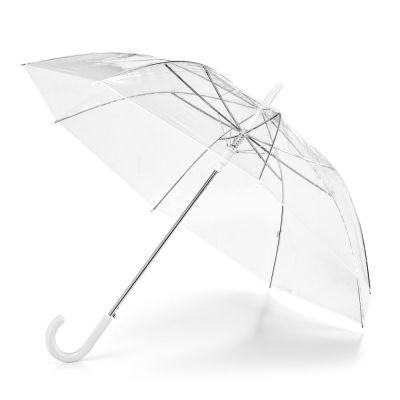 NICHOLAS. Ombrello Ombrello in POE con apertura automatica trasparente
