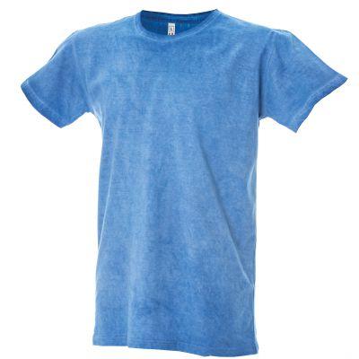 """T-shirt manica corta girocollo """"cool dyed"""" - 100% cotone pettinato tinto a freddo Cardiff"""