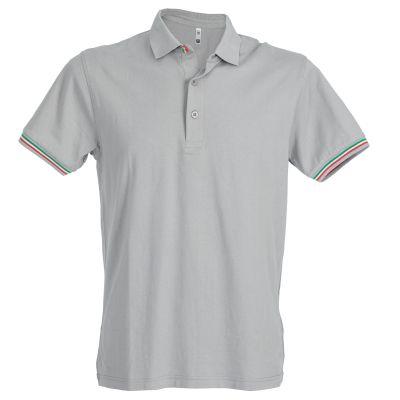 Genova polo manica corta in jersey
