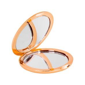 Avventurina Specchietto da borsetta, con finitura metallizzata.