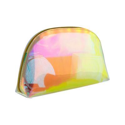 Taylor Pochette a forma di mezzaluna, con finitura iridescente