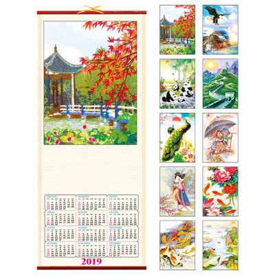 Calendario in canna  32*75