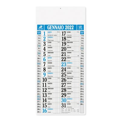 Olandese magnum mensile 12 fogli carta naturale
