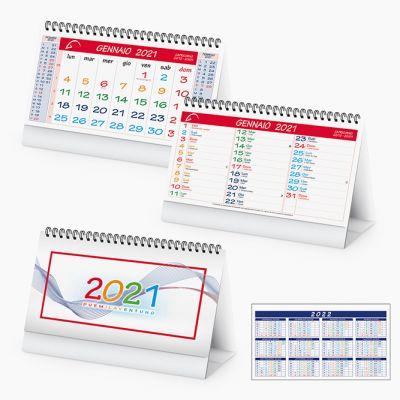 Calendario da tavolo spiralato multicolor