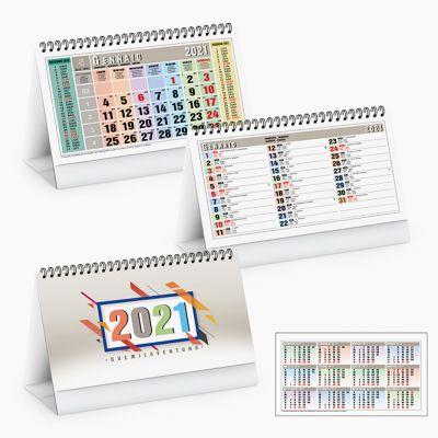 Calendario da tavolo Square table spiralato