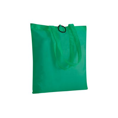 BORSA SHOPPING NYLON RIPIEGABILE CON ELASTICO