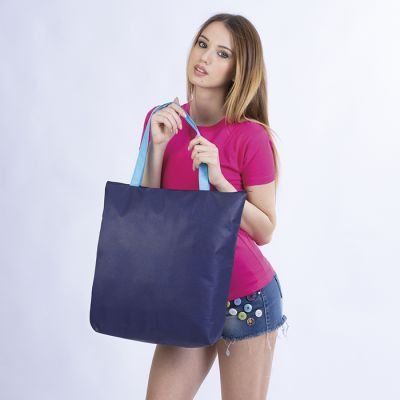 BORSA SHOPPING TNT ERACLE CON CHIUSURA ZIP