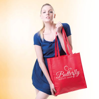 BORSA SHOPPING CON SOFFIETTO TNT CELEBRITY